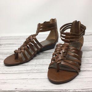 ELLE Gladiator Sandals, Size 9.5